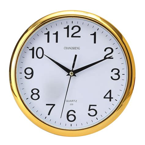 wall clock for bedroom new large vintage round modern home bedroom retro time