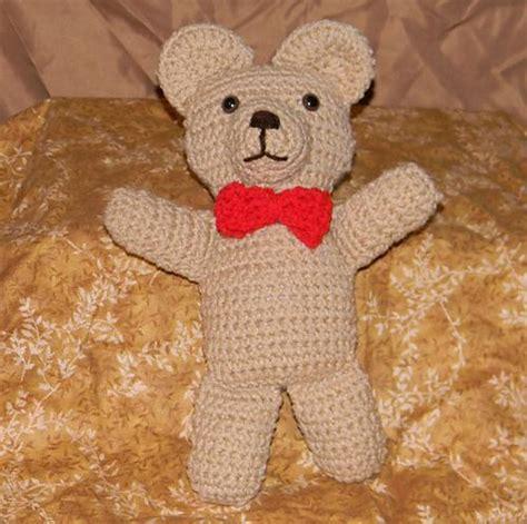 simple pattern for a teddy bear super easy teddy bear by stormyz crochet crocheting pattern