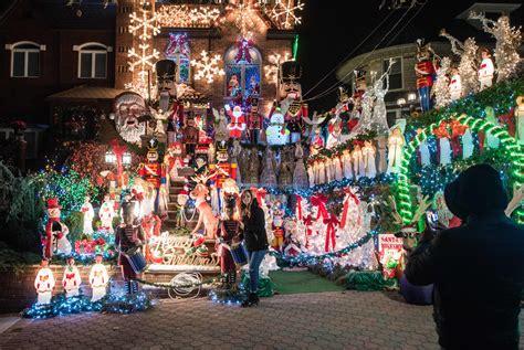 dyker heights christmas lights  guide   info