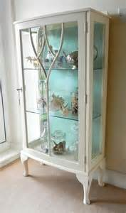 Diy Glass Curio Cabinet Beautiful Blue Interiors And Paint On