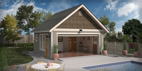 garage pool house cgarchitect professional 3d architectural visualization
