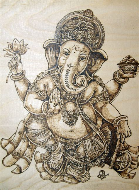ganesh art by olev foundmyself