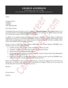 Sle Cover Letter Software Engineer by Cover Letter Mechanical Engineer Cover Letter Templates