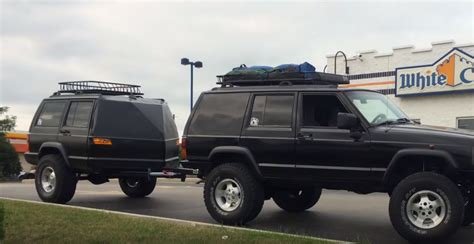 Jeep Xj This Xj Jeep Has The World S Coolest Trailer Jk