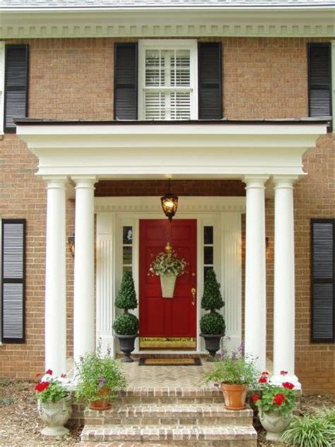 front door porch ideas pottery barn garland knock make your own