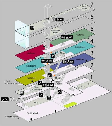 tate modern floor plan the world s catalog of ideas