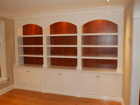 custom built in bookcases custom built bookshelves