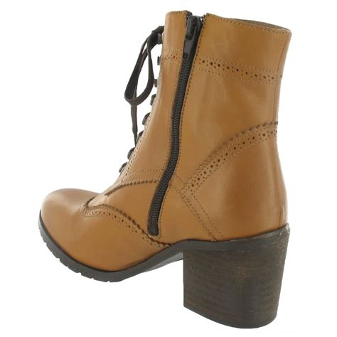 marta jonsson brogue ankle boot with laces 6028l s