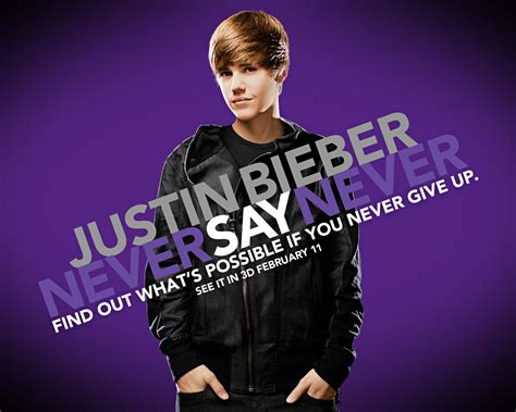 never say never justin bieber never say never movie wallpaper