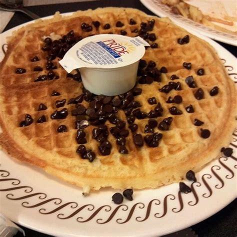 Waffle House Cocoa waffle house chocolate chip waffles foodspotting