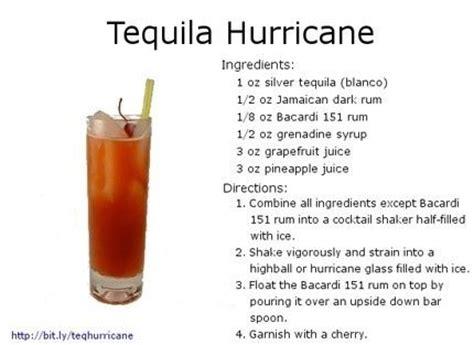 tequila hurricane