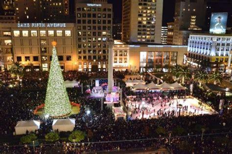 union square tree lighting union square s macy s tree lighting funcheapsf com