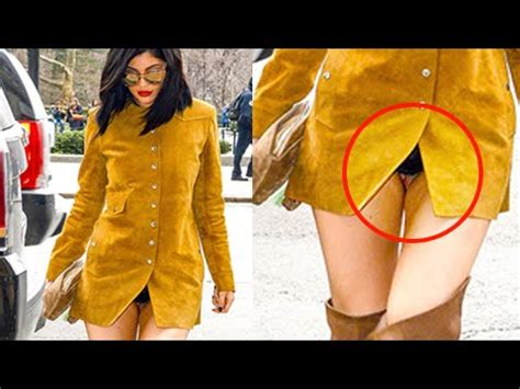 recent crotch exposure exposed kylie jenner flashes crotch underwear youtube