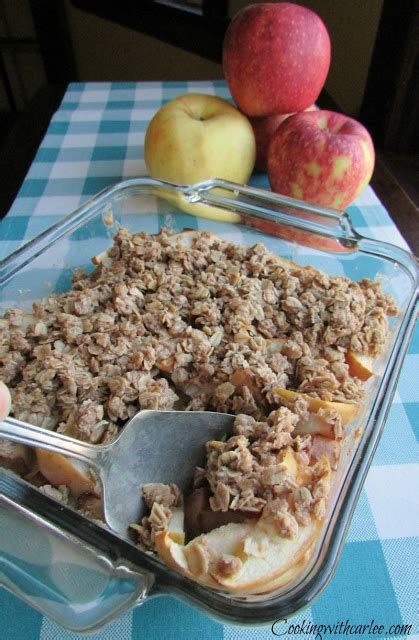 Crispy Toping Minuman 1 cooking with carlee great peggy s apple crisp