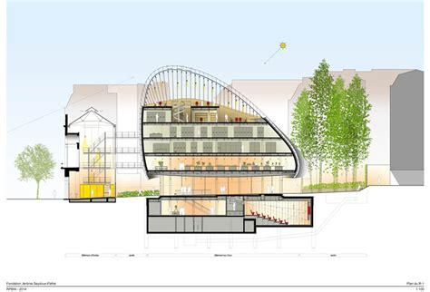 Paris Apartment Floor Plans path 233 foundation renzo piano building workshop archdaily