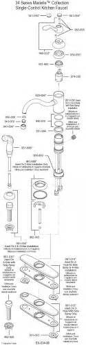 price pfister marielle kitchen faucet parts plumbingwarehouse price pfister parts for model 34