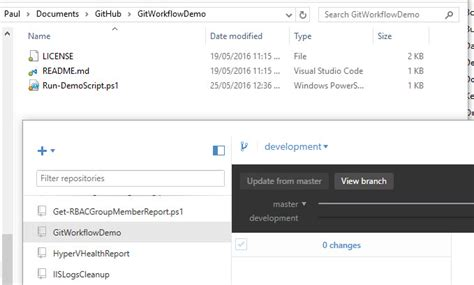 github tutorial bash a git workflow for powershell scripting