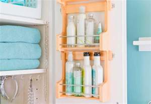Small Bathroom Shelf Ideas boost storage in a small bathroom