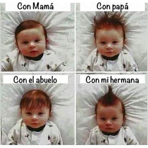 fotos muy graciosas de bebes fotos de bebes con peinados graciosos imagenes bonitas