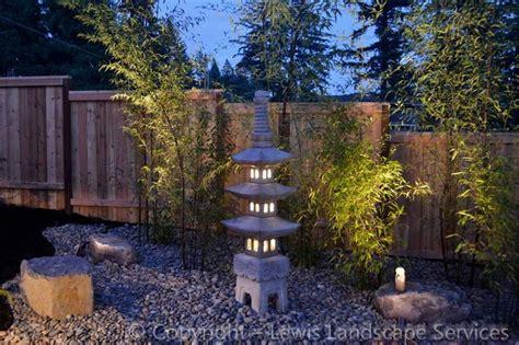 japanese style garden lights asian garden japanese garden asian landscape