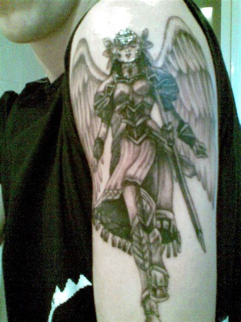 guardian tattoo full body angel tattoos and designs page 134