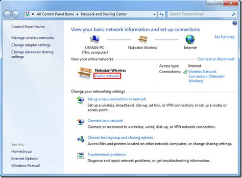 Reset Wifi Location | simple windows 7 file sharing step by step procedure