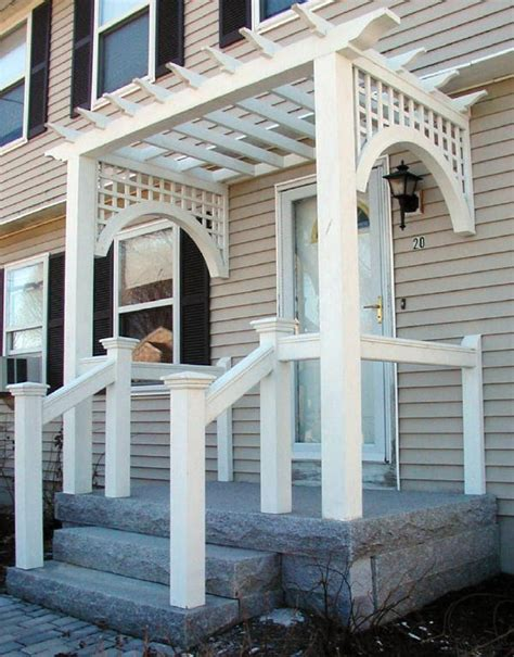 Front Porch With Pergola by Arbor Field Notes