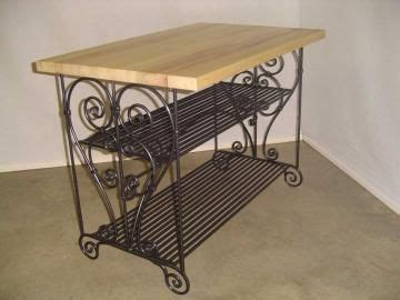 wrought iron kitchen island 19 best images about kitchen on pinterest recycling