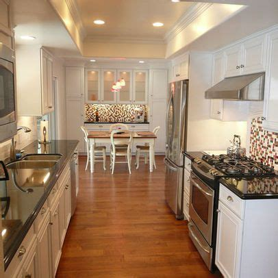 galley kitchen decorating ideas 17 best images about galley eat in kitchens on
