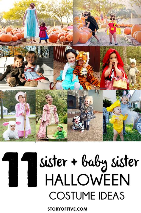 Halloween Giveaway Ideas - 11 sister baby sister halloween costume ideas ghosts giveaway