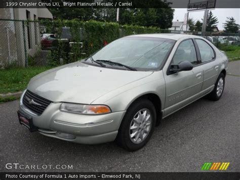 1999 Chrysler Cirrus Lxi by Bright Platinum Metallic 1999 Chrysler Cirrus Lxi