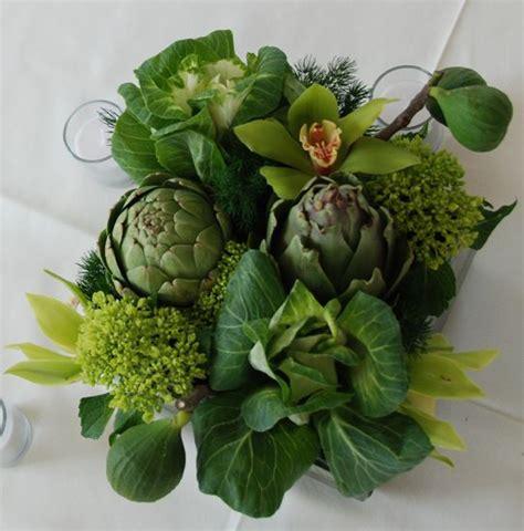 ornamental cabbage indoors artichoke cabbage orchid floral arrangements