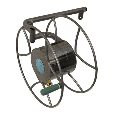 garden hose reel wall mount metal yard butler srwm 180 wall mounted hose reel myreels