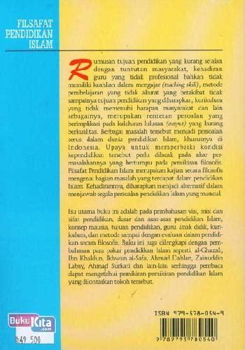 Filsafat Pendidikan Islam Edisi Revisi Prof H Muzzayin Arifin bukukita filsafat pendidikan islam edisi baru