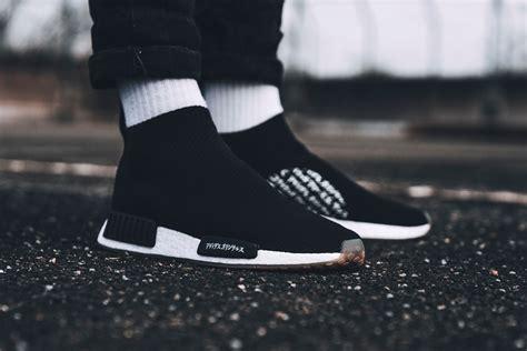 Adidas Nmd City Sock Sepatu Cowok united arrows sons x adidas nmd city sock black