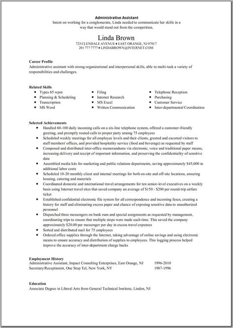 how to make a resume just out of high school 25 best ideas about administrative assistant resume on