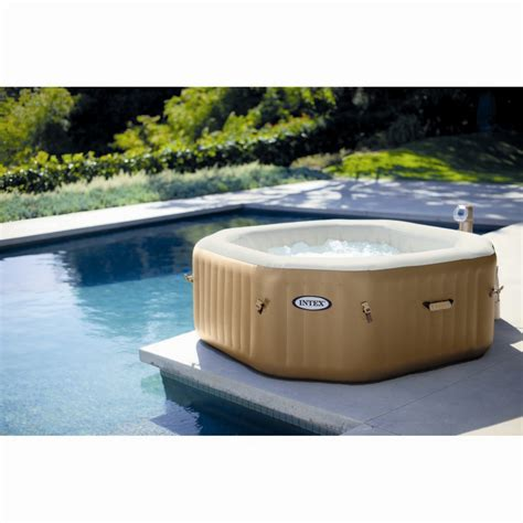 Intex Spa 6 Places 4280 by Spa Gonflable 224 Bulles Intex Octogonal 4 Places Beige