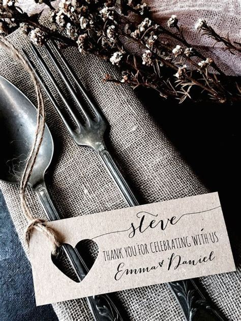 Place Cards, Wedding Place Cards, Wedding Name Tags, Name
