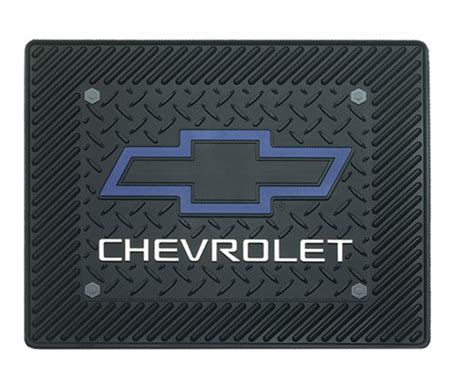 Pink Chevy Floor Mats by Cheap Floor Mats Chevy Blue Bowtie Utility Mat 14 Quot