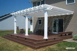 view photos of beautiful custom pergola designsminneapolis deck builders maintenance free deck