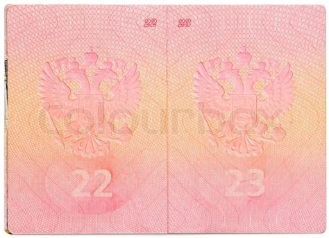 passport background pattern vector russian passport on white background stock photo colourbox