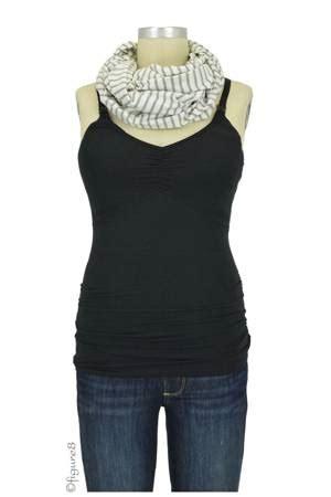 Ce491 Size M Stripes Gray Ucansee Sleeveless Baju Wanita Impor seraphine bamboo nursing shawl in stripes