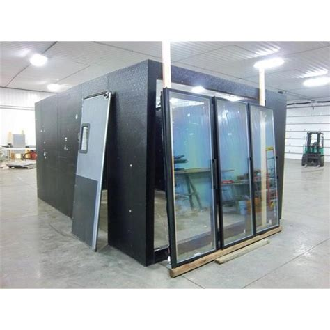 Crown Tonka Anthony Walk In Cooler 168 Sq Ft Barr Walk In Cooler Glass Doors