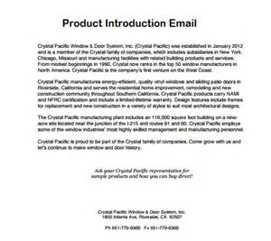 product introduction email writing professional letters