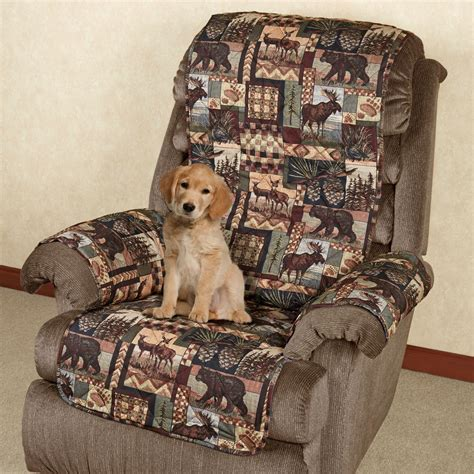 Covers Pets by Lodge Quilted Microfiber Pet Furniture Covers