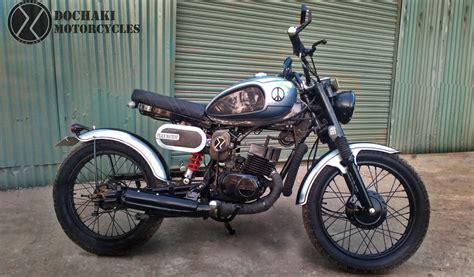 Suzuki 350cc Suzuki Bobber Custom Modified Motorcycle Dochaki Designs