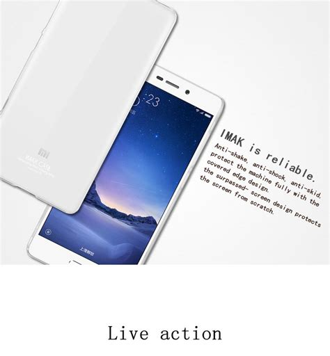 Imak Cowboy Xiaomi Mi Max ultra clear mobile phone imak ii for