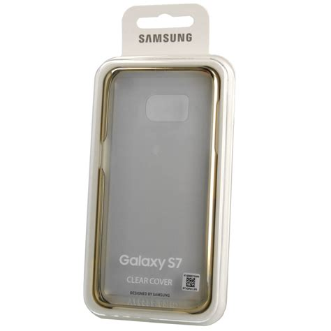 Samsung Protective Clear Cover EF QG930CFEGWW for Samsung Galaxy S7 (clear gold) Price ? Dice.bg