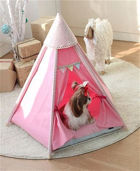 dog teepee house pet houses teepee tent and teepees on pinterest