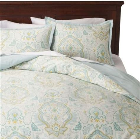 threshold bedding love this one from target threshold paisley duvet cover